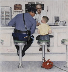 trooper and boy