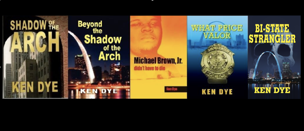 Five true-crime novels by Ken Dye